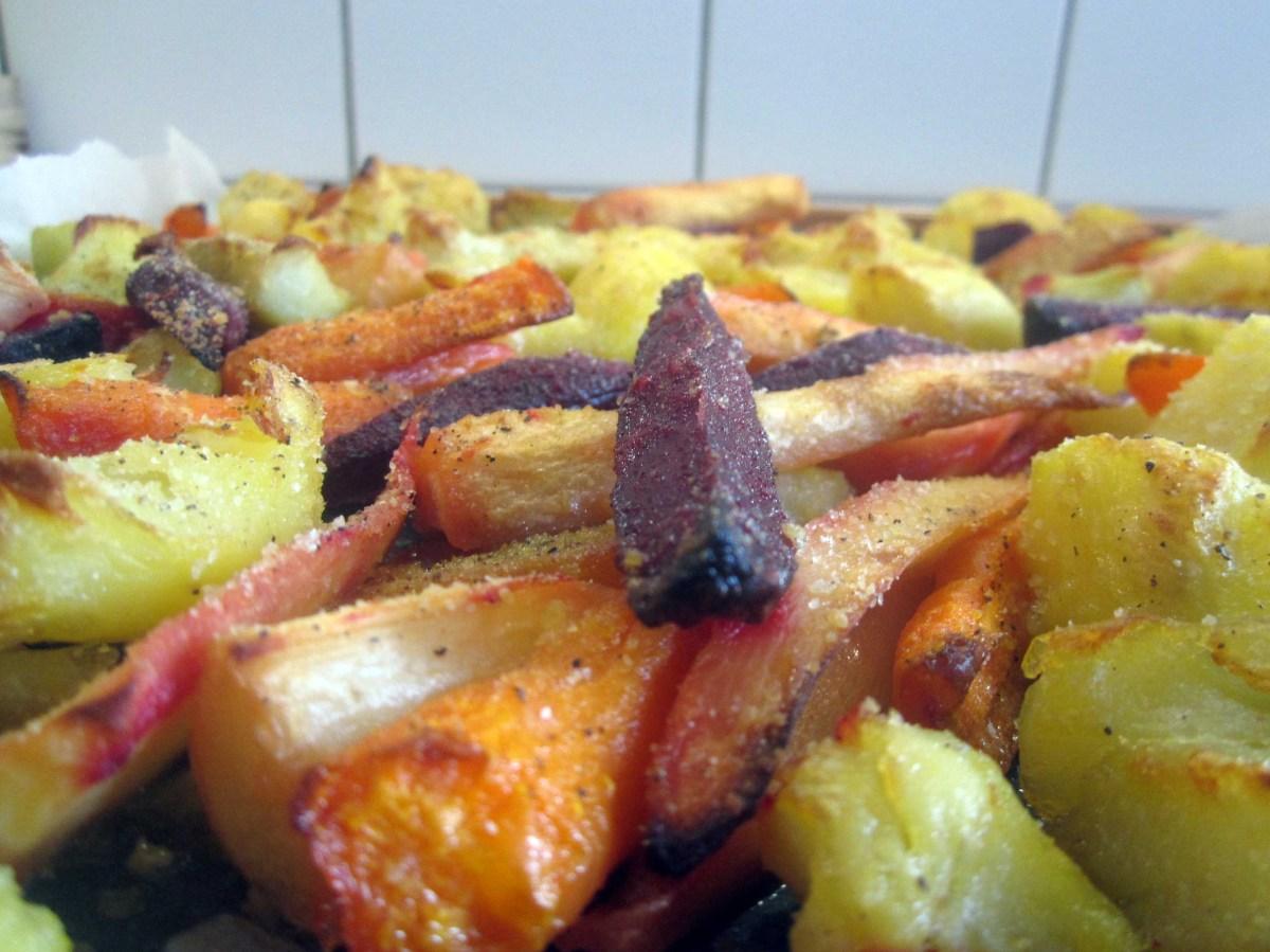 Pečeno korjenasto povrće