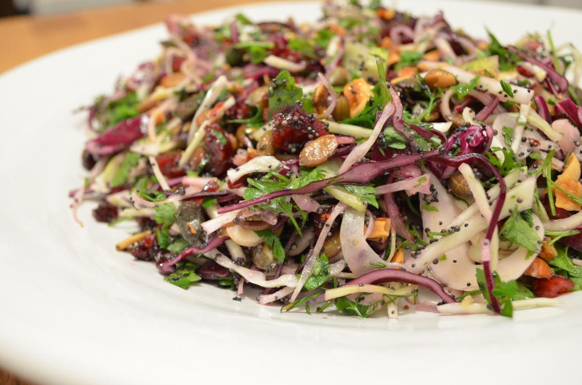 Nordijska kupus salata