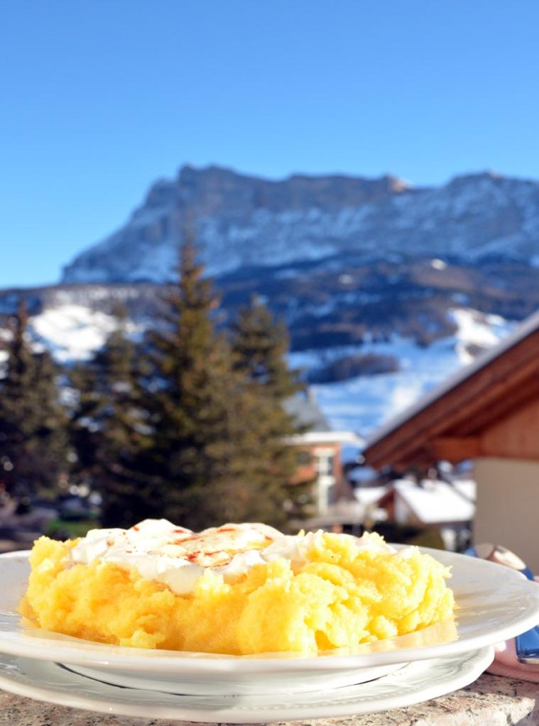 Doručak na planini: Palenta sa parmesan sirom